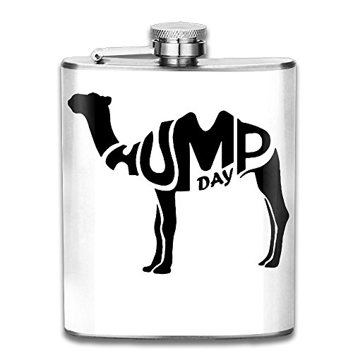 Hump Day 7 OZ Stainless Steel Leak-proof Wine Pot Hip Flask For Biking