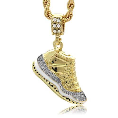 Mens Gold Plated Hip Hop Retro 11
