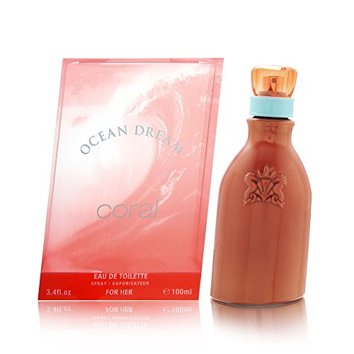 Ocean Dream Coral by Designer Parfums Ltd For Women. Eau De Toilette Spray ()