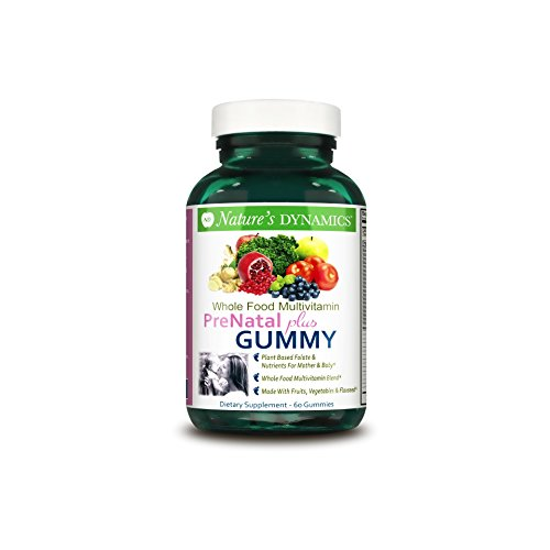 Nature S Dynamics Prenatal Plus Organic Whole Food Gummy