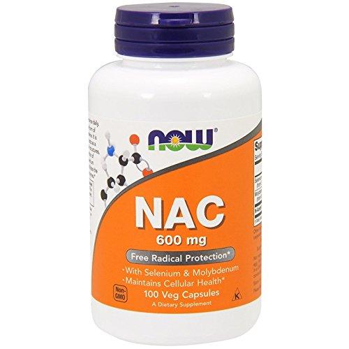 NAC, 600 mg, 100 Veg Capsules