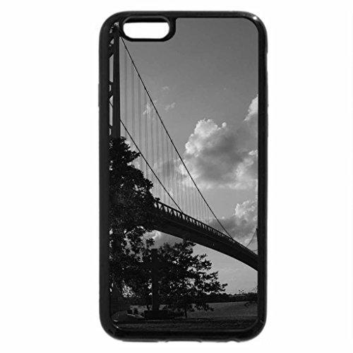 iPhone 6S Plus Case, iPhone 6 Plus Case (Black & White) - Ambassador bridge