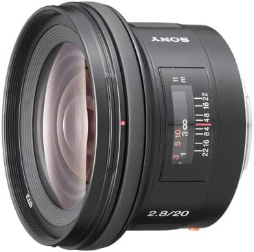 Sony E 20mm F 2 8 Kamera