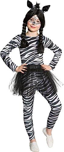 Orlob Kinder Kostum Zebra Madchen Zebrakostum Karneval Fasching Gr
