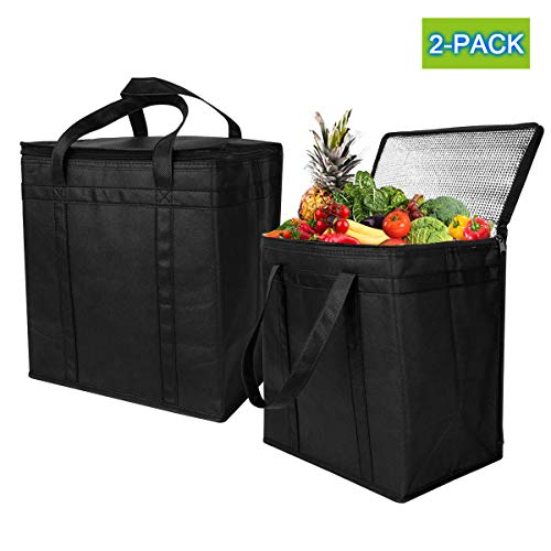 insulated bag with zipper - 5