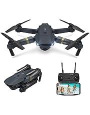 EACHINE E58 Drone con Camara HD 2.0MP 720p Wide Angel Drone con Camara Profesional Drone Video Profesional Drone para Niños WiFi App para iOS/Android