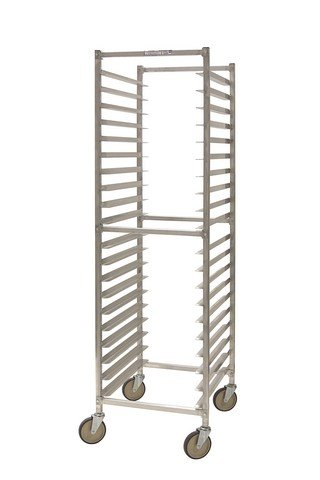 PVIFS WE3018KD W Series Knock-Down End Load Pan Rack, 20 Pan Capacity, 25'' Length x 20-1/4'' Width x 71-1/2'' Height by PVIFS
