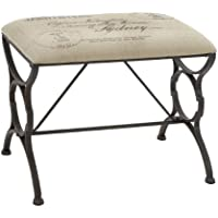 Charming Paris Postcard Style Bench by Benzara