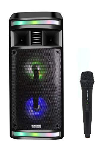 DYNASONIC – DY-65201 draadloze bluetooth luidspreker met audio systeem   bluetooth, draagbare luidspreker, usb…