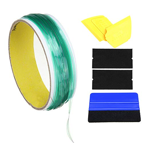 a166de60ede10 Martinimble 10M Knifeless Tape with Squeegee Tools for Car Vinyl Wrapping  Film Cutting
