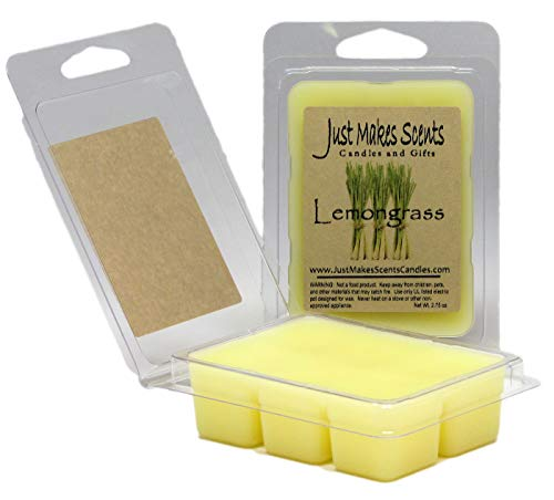 Just Makes Scents 2 Pack - Lemongrass Scented Blended Soy Wax Melts
