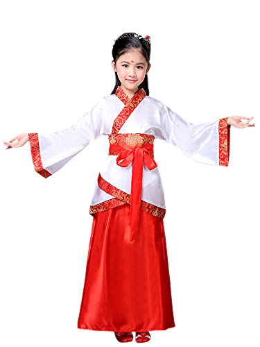ZEVONDA Unisex Retro Chinese Style Hanfu, Tang, Han Dynasty National Costume