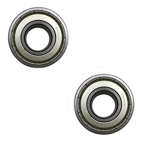2 Hammerhead Bearing 6202-Z, Outer Hub Bearing for 150c, 250cc, 300cc, Inner Front Bearing For Mudhead 208R and Mid Size Gokarts - 9.030.010 replaces 62022RS0000000,14149, 9.030.010-Z, 9.030.010-2Z from WhatApart