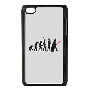 Darth Vader Human Evolution iPod Touch 4 Case Black Pretty Present zhm004_5970116