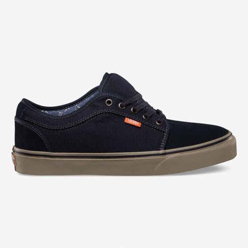 Vans Chukka Gentlemen Low Grey/Blue (Size: 42) BMX Shoes -