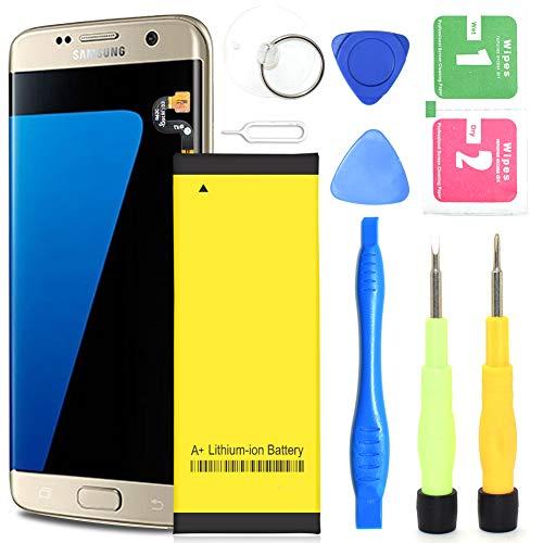 Galaxy S7 Edge Battery,3800mAh Li-Polymer Battery Replacement for Samsung Galaxy S7 Edge EB-BG935ABE G935V G935P G935A G935F G935T Phone | S7 Edge Battery Replacement Kit[ 365 Day Warranty ]