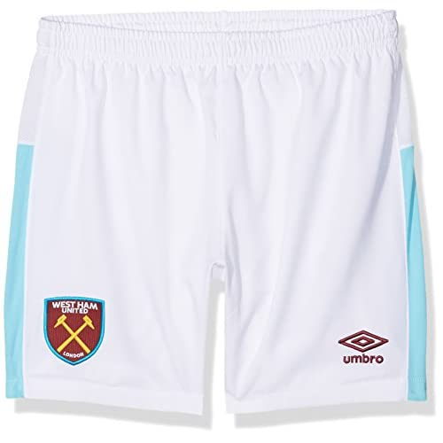 2016-2017 West Ham Home Football Shorts (Kids) free shipping