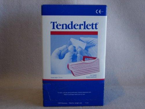Tenderlett Fingerstick Incision Device (Pack of 100)