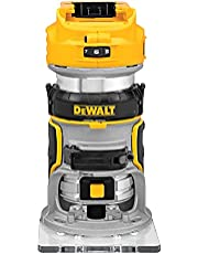 DEWALT 20V MAX* XR Cordless Router, Brushless, Tool Only (DCW600B)