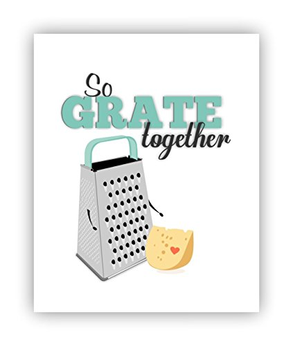 So Grate Together, Food Pun, Funny Poster, Poster