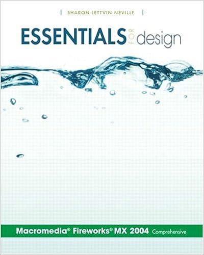 Essentials for Design Macromedia Fireworks MX 2004-Comprehensive