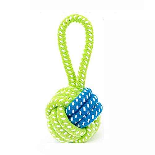 07521c4cef9 Dog Toy Dog Chews Cotton Rope Knot Ball Grinding Teeth Odontoprisis Pet  Toys Large Small Dogs Funny Pet chew Toy Gift for pet