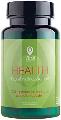 Vital Concept Health - All Multi Vitamins Important for Growth, Vitality and Good Physical Condition. Helps for Production of antibodies. 60 Veggie Capsules, 30 Days Supply. GMO and Gluten Free