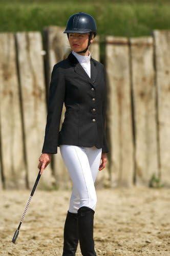 Veste de concours C.S.O. laine, dames - noir,