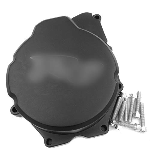 NBX- Billet Aluminum Motorcycle Engine Stator Cover For Compatible with Yamaha YZF-R6 2006-2014 Black Left Side
