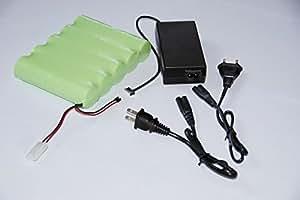 Kit Bateria BK Niquel-Metal Hidruro para Hinchadores BTP-BP Bravo