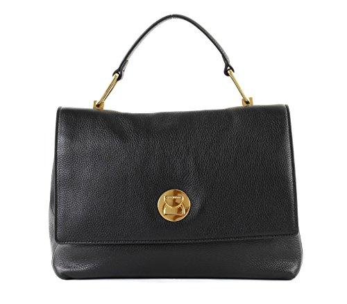Liya Borsa Medium Cd0180101 Noir 001 Donna Coccinelle wvtXUq