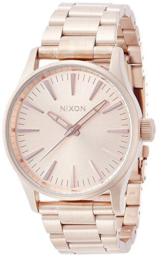 NIXON SENTRY 38 SS: ALL ROSE GOLD NA450897-00 [regular imported goods]