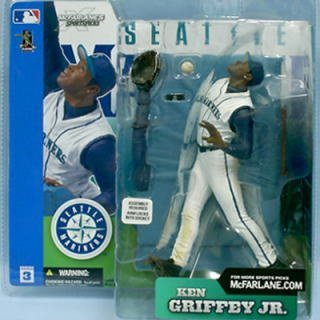 Mcfarlane Mlb 3 Figure - Mcfarlane Toys MLB Sports Picks Series 3 Action Figure Ken Griffey Jr. (Seattle Mariners) White Retro Jersey Variant by Unknown