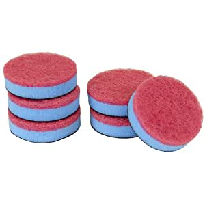 Quickie Multi-Purpose 6-Pack Scourer Refill for the Household Power Scrubber