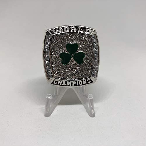 2008 Kevin Garnett Boston Celtics High Quality Replica Finals Championship Ring Size 8.5-Gold Colored