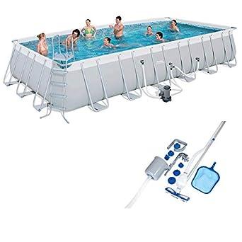 Amazon.com: Bestway - Juego de piscina de 24 x 12 pies + kit ...