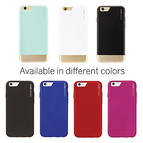 info for ac8f7 b8e28 iPhone 6 Case, CaseCrown Lux Glider Case (Mint / Gold) - Import It All