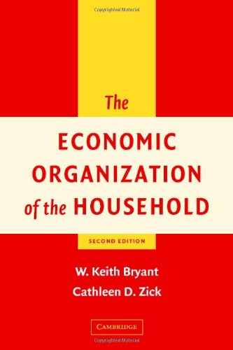 The Economic Organization of the Household