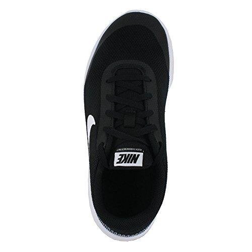 Nike Kids Flex Experience RN 7 (GS) Black White White Size 4 by Nike (Image #3)