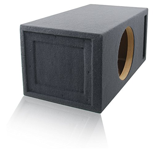 2.0 Cu. Ft. Ported / Vented MDF Sub Woofer Enclosure for Single 12'' Car Subwoofer (2.0 ft^3 @ 32Hz) Made in U.S.A. by MSW Enclosures (Image #1)