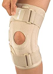 Mueller Sports Medicine Open Patella Knee Stabilizer, Beige, One Size