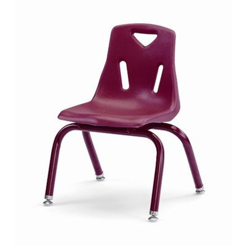 Jonti-Craft 8120JC1008 BerriesPlastic Chairs with Powder Coated Legs, 10