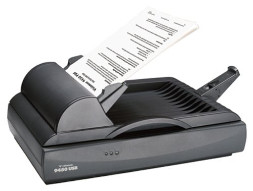 Visioneer One Touch 9450 USB 600 DPI Flatbed ADF Color Scanner (94501D-USB) by Visioneer