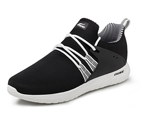 from china cheap price OneMix Lightweight Mesh Upper Soft Running Sports Sneakers for Men Women Black White outlet low shipping fee lowest price online rItCS