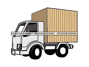 Amazon com: Mildred Rob Moving Move Truck Transport Transfer