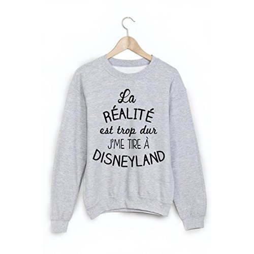 Sweat-Shirt citation humour disneyland ref 1885 - L