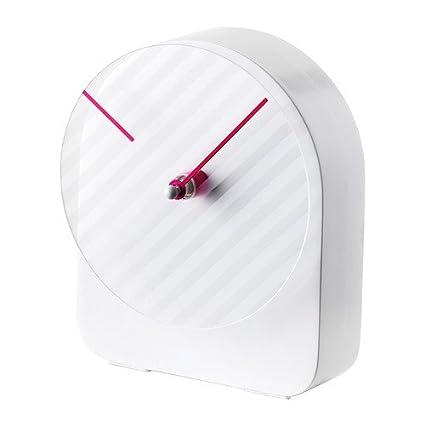 Ikea Ps 2014 reloj de pared, diseño de rayas, morado