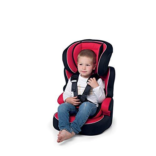 Foppapedretti Babyroad Seggiolino Auto, Grigio, Gruppo 1-2-3 (9-36 Kg) per bambini da 9 mesi a 12 anni circa, installazione: con la cintura di sicurezza dell'autoveicolo (senza ISOFIX)