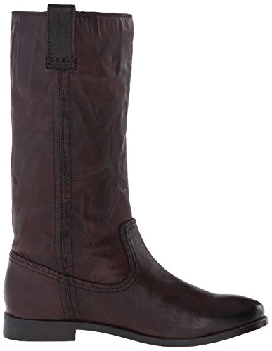 Boot on 71051 Tire Anna Mid Slouch Frye de Brown mujer la asv Dark z1HqzZ4x