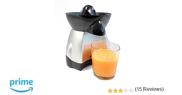Jocca 5444 Exprimidor eléctrico, Color Plateado, 25 W, 0.35 litros, Plata: Amazon.es: Hogar